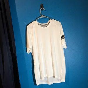 White Adidas Tee
